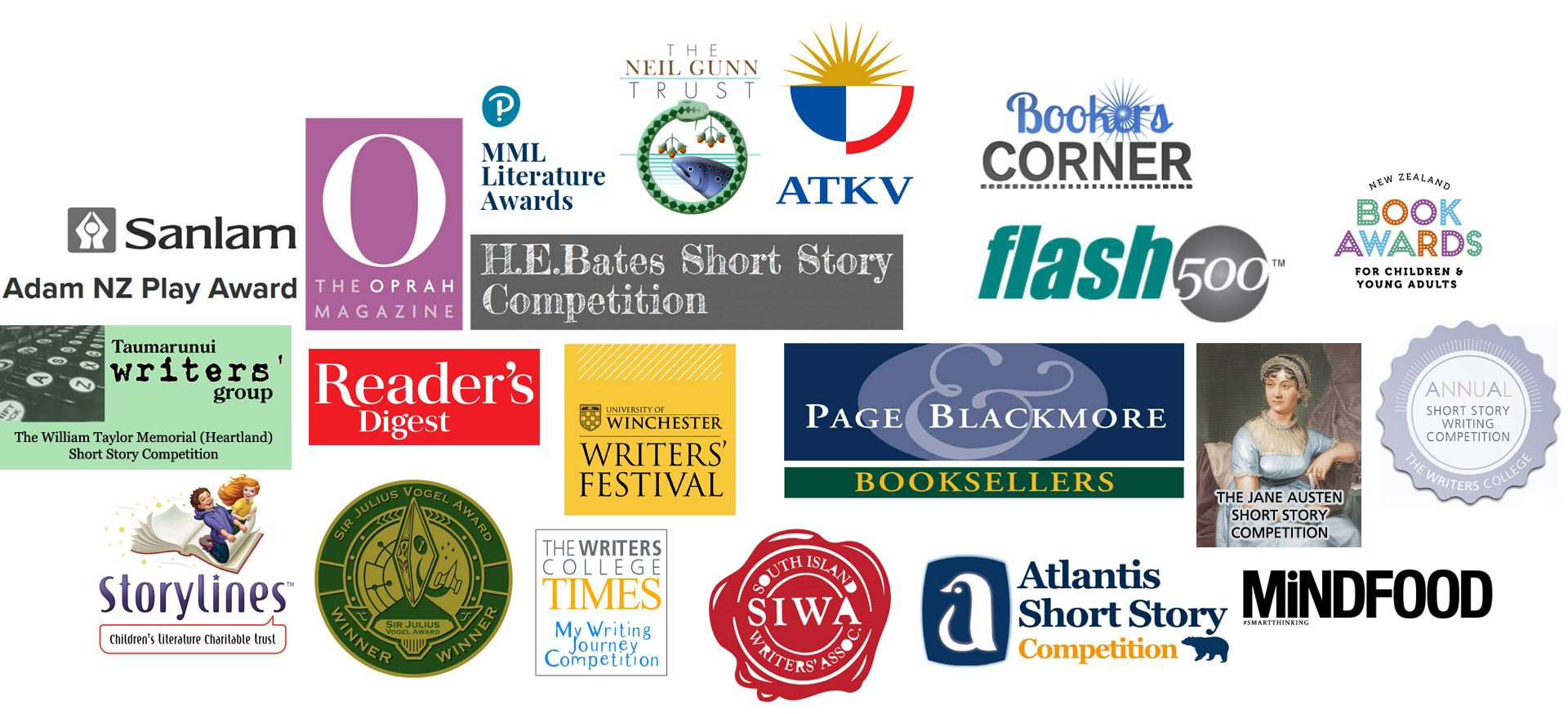 Our Writers College students have been finalists or winners in these global writing competitions
