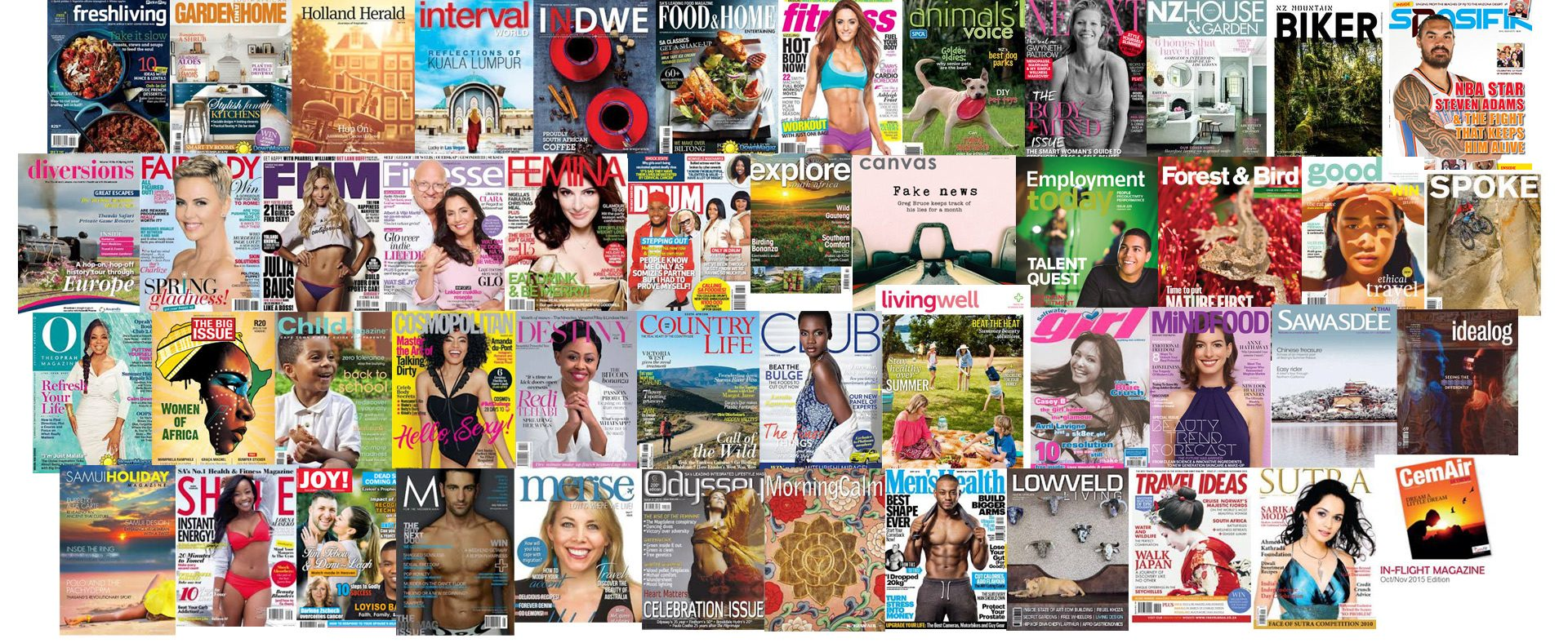 Journalism writing course publishing successes in magazines worldwide